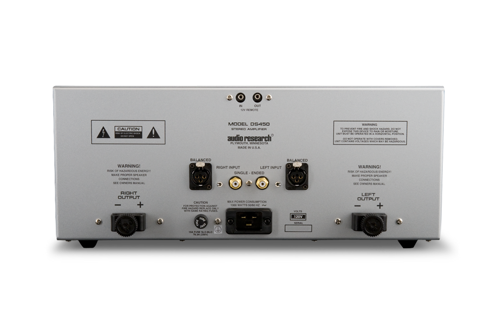 Audio Research DS450 SS Power Amplifier