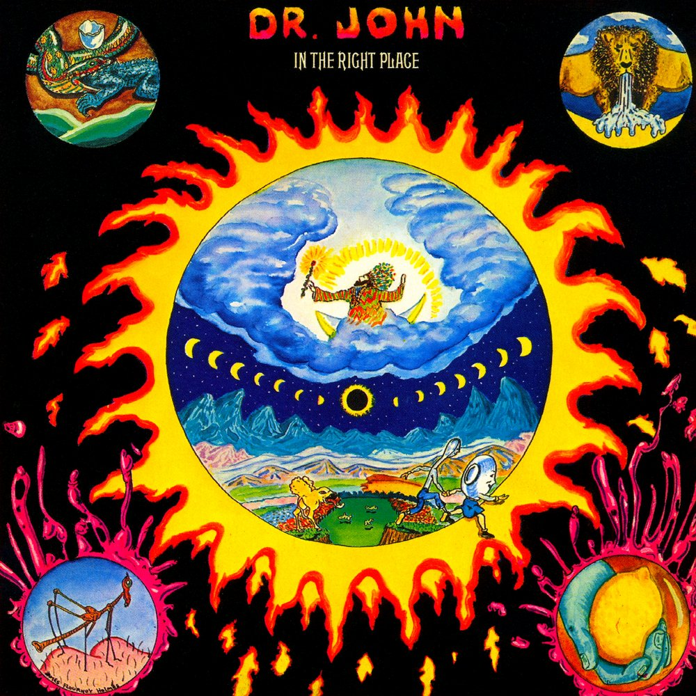 LP Dr. John - In The Right Place