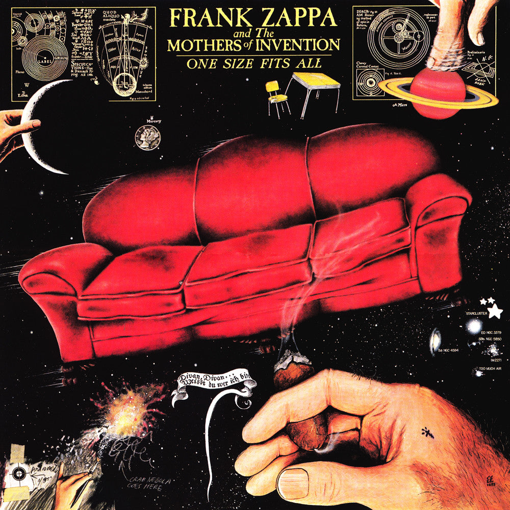 LP Zappa, Frank - One Size Fits All