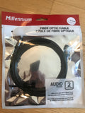 Millenium TFO-02 Optical Toslink Cable 2m TV Cable Digital
