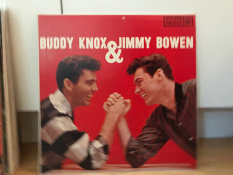 LP USED - Buddy Knox & Jimmy Bowen