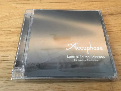 Accuphase Special Sound Selection Test CD SACD