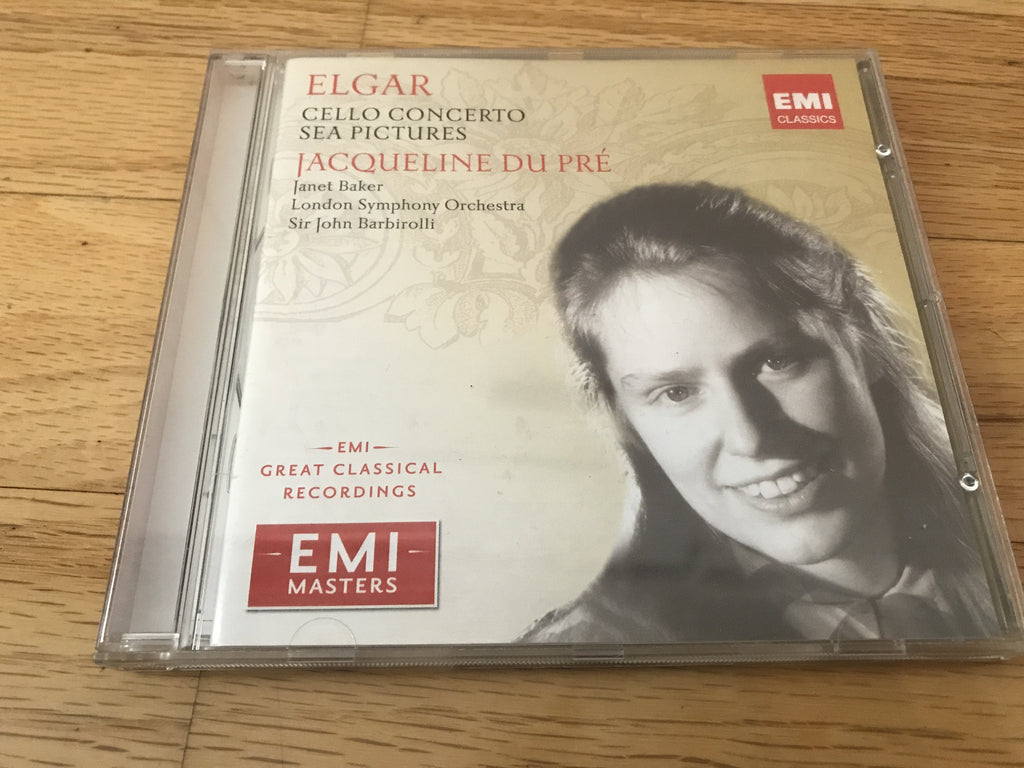 CD USED - Du Pre, Jacqueline - Elgar Cello Concerto