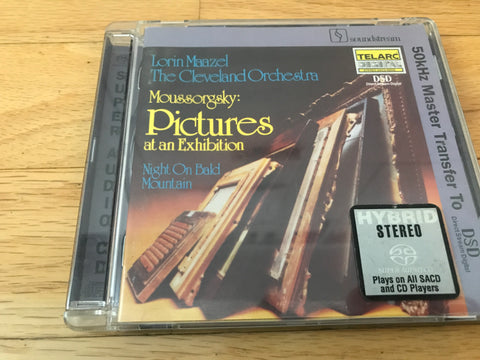 CD USED - Mussorgsky - Pictures at an Exhibition CD/SACD