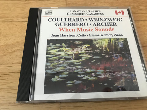 CD USED - Coulthard / Weinzweig - When Music Sounds