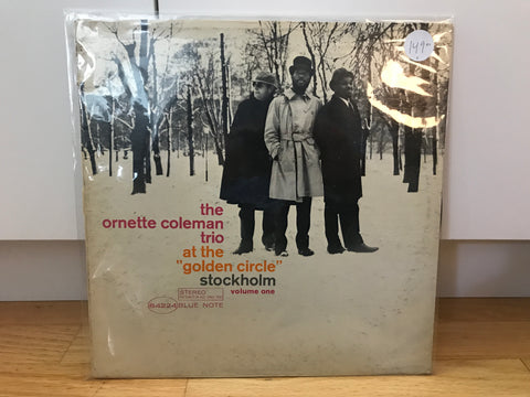 LP USED Coleman, Ornette - At the Golden Circle