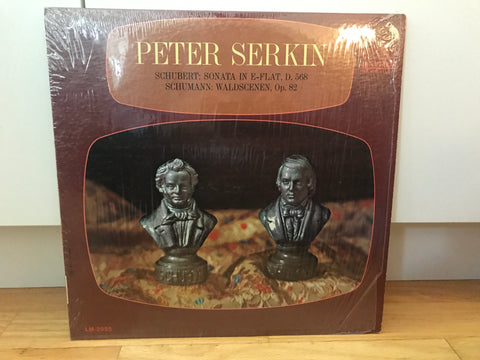 LP USED - Serkin, Peter - Schubert & Schumann