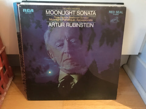 LP USED - Rubinstein, Artur - Moonlight Sonata