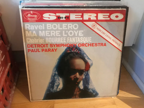 LP USED - Ravel - Bolero