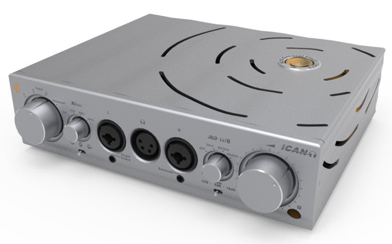 iFi iCAN Pro Hybrid Tube Headphone Amplifier