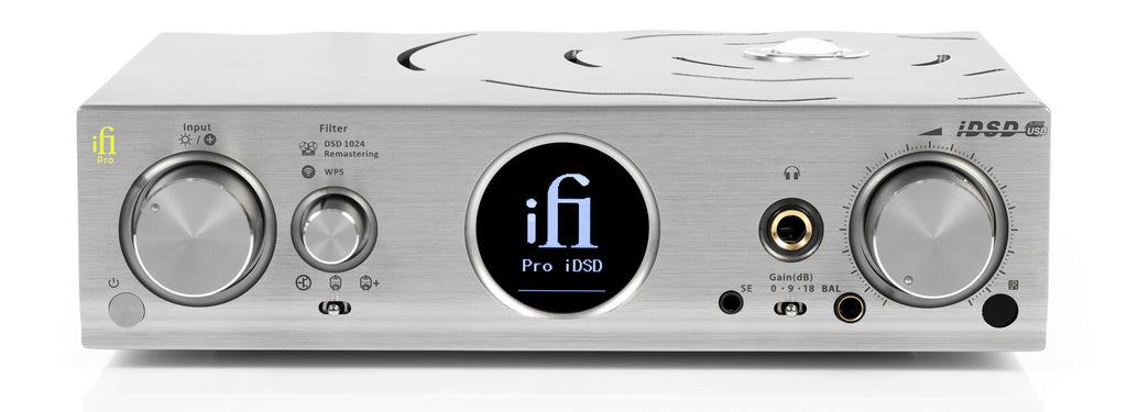 iFi Pro iDSD Solid State or Tube DAC, WiFi Streaming Headphone Amp