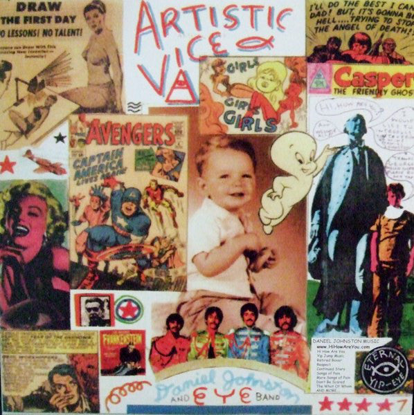 LP Johnston, Daniel - Artistic Vice / 1990