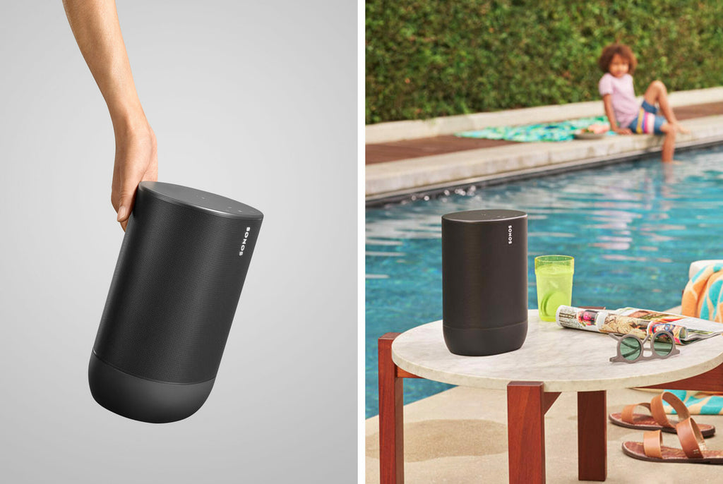 Sonos Move Wireless Wi-Fi Bluetooth Speaker