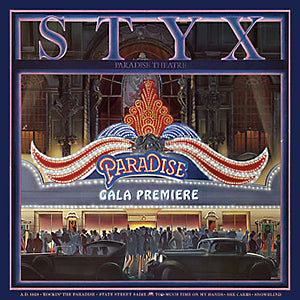 LP Styx - Paradise Theater