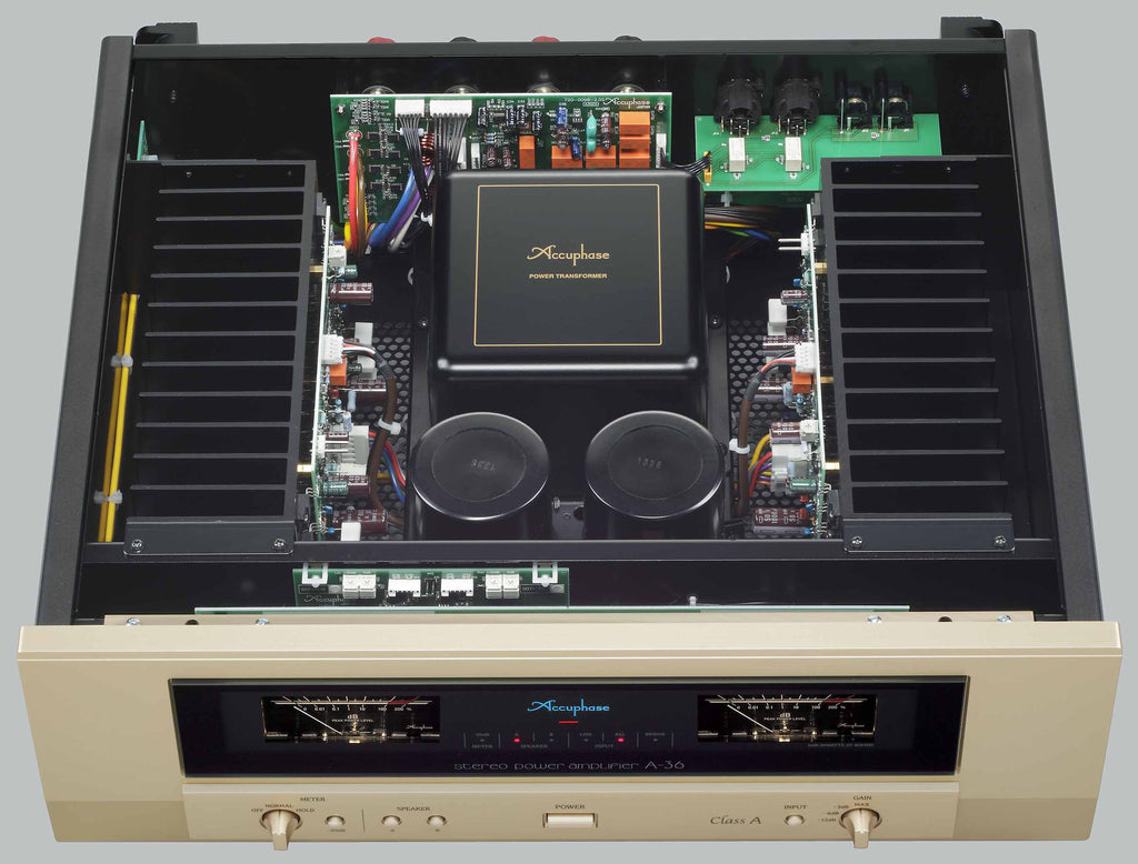 Accuphase A 36 Power Amplifier Planet Of Sound