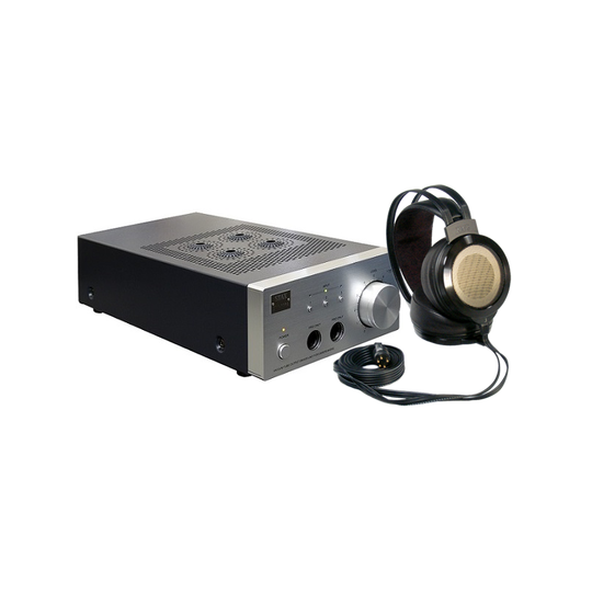Stax SR-007 MK2 System Combo: SR-007 Omega MK2 Earspeaker with SRM-007tll Driver