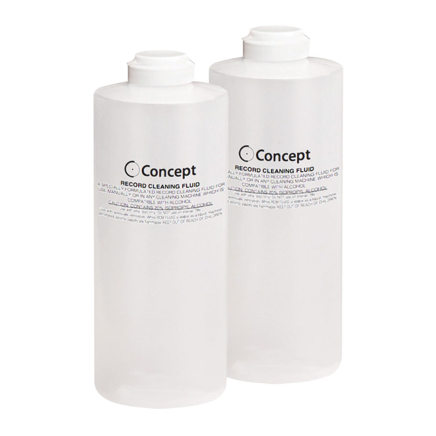 Concept Record Cleaning Fluid 16 oz