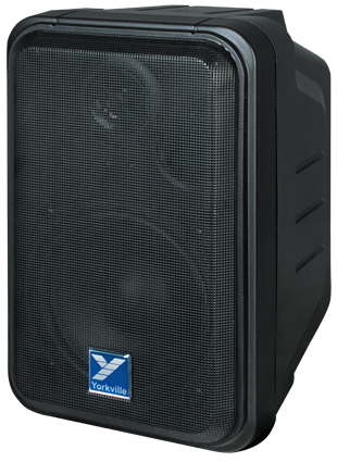 Yorkville C120P Powered Wall-Mount Indoor/Outdoor Speaker