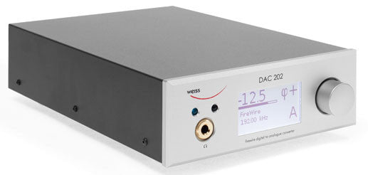 Weiss DAC202 FireWire 24/192 DAC with Headphone amplifier
