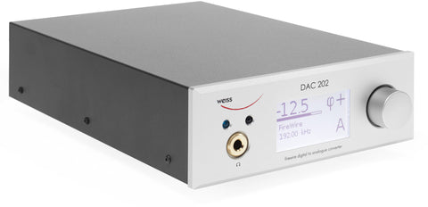 Weiss DAC202 USB/DSD DAC with Preamp, Headphone & Ethernet