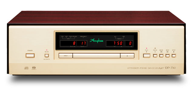 Accuphase DP-750 Precision MDSD SA-CD Player