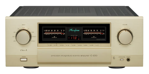 Accuphase E-650 Class A Integrated Amplifier