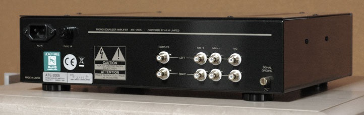 Air Tight ATE-2005 Tube MC/MM Phono Preamplifier