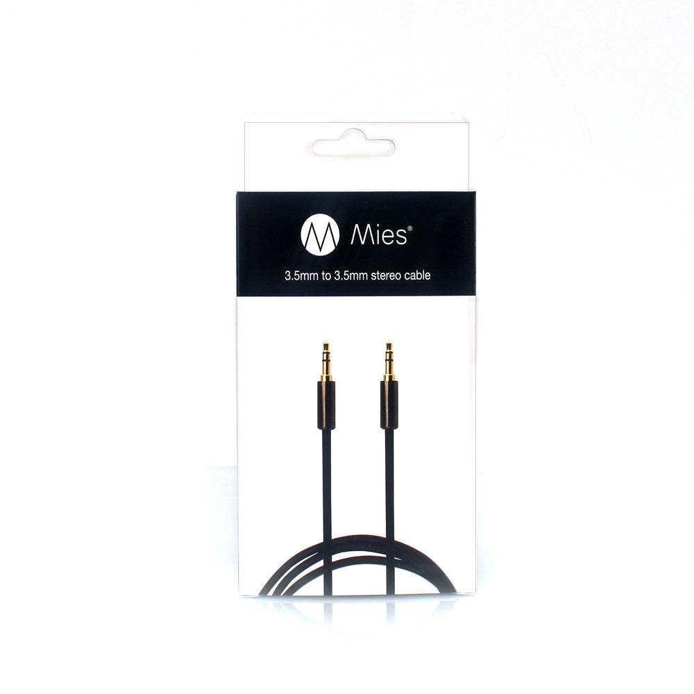 Mies 3.5mm to 3.5mm Stereo Cable