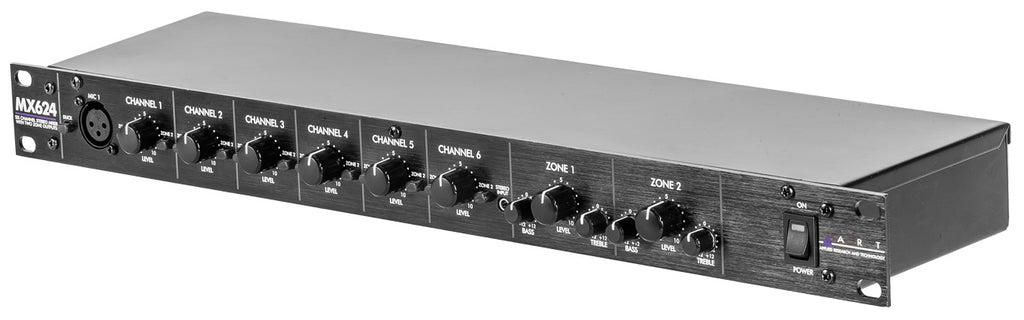 Art Audio MX624 6 Channel Stereo Mixer