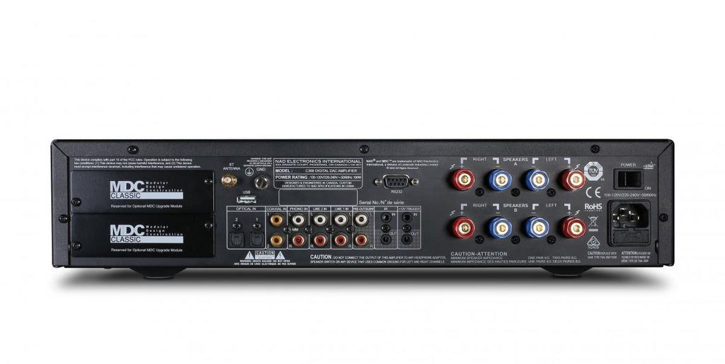 NAD C 368 Hybrid Digital DAC Amplifier