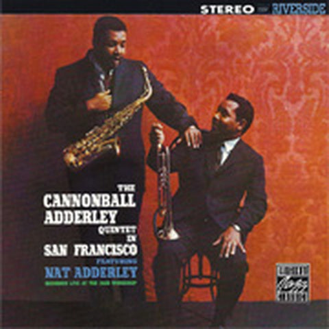 LP Adderley, Cannonball - In San Francisco (120G Fantasy)
