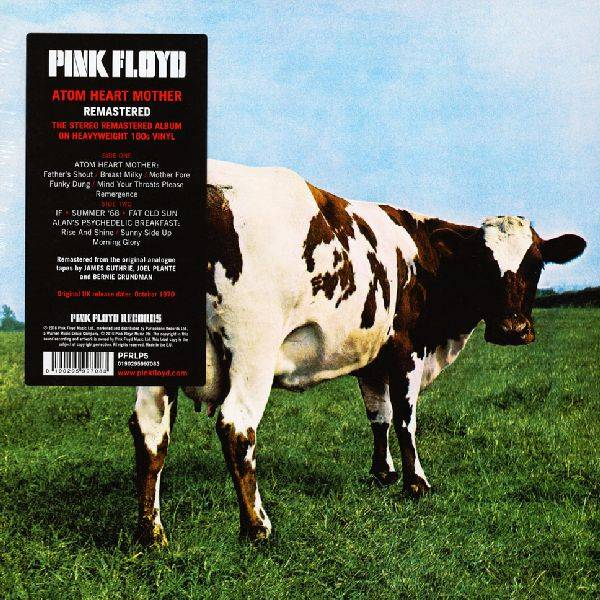 LP Pink Floyd - Atom Heart Mother
