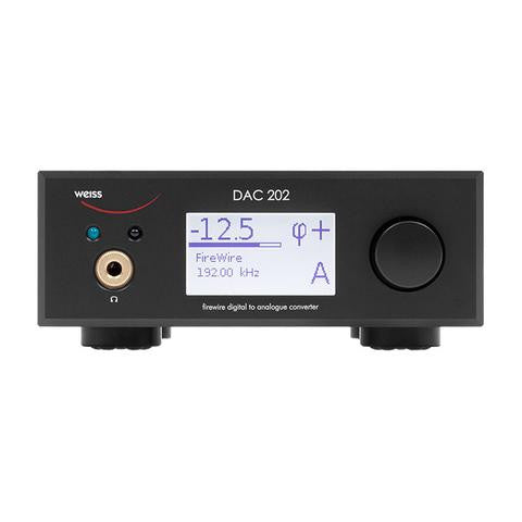 Weiss DAC 202 USB/DSD DAC w/Preamp & Headphone
