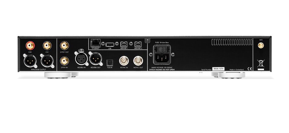 Weiss MAN301 Server/Digital to Analog Converter