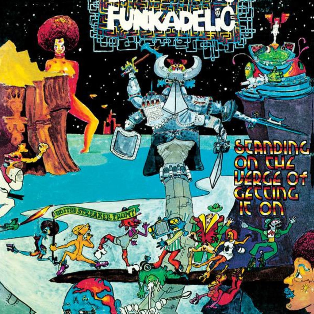 LP Funkadelic - Best Of: Standing On The Verge