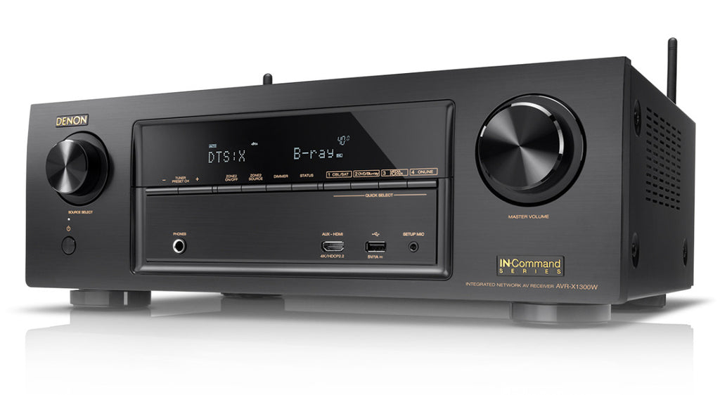 Denon AVR-X1300W 7.2 Home Theater Receiver