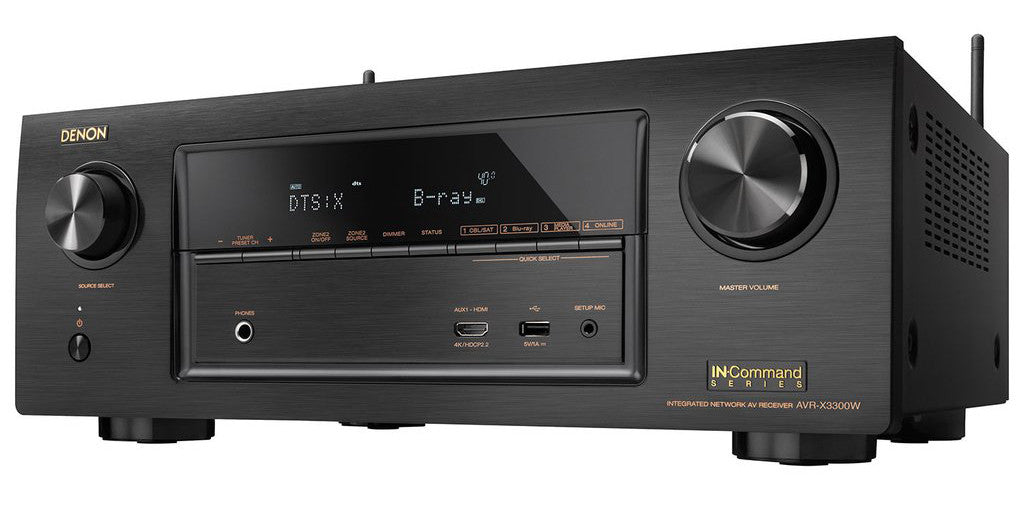 Denon AVR-X3300W 7.2 Channel Home Theater Receiver