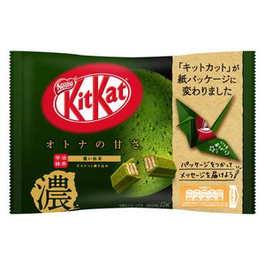 Kit Kat Mini OTONA-NO-AMASA Koi Matcha