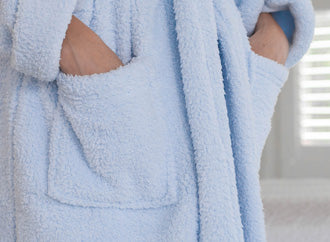 Plush Microfiber Robes - Pockets