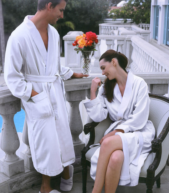 Spa Robes for couples_color-White