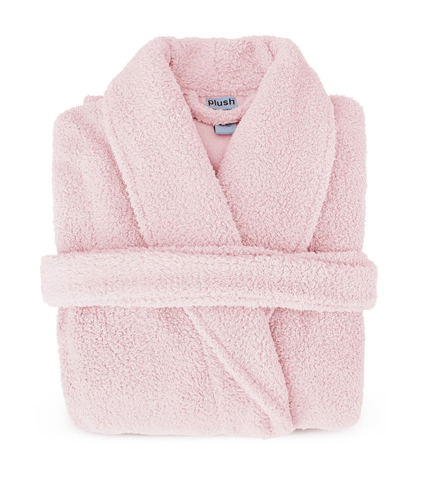 Plush Robe in Pink_color-Blush