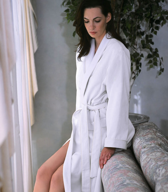 Spa Robe for women_color-White