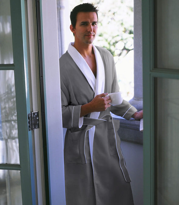 Spa Robe for men_color-Sandstone_collection-Best Men's Robes