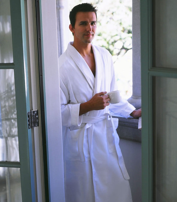 Spa Robe for men_color-White