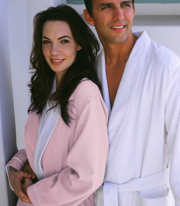 Spa Robes for couples_color-Pink_collection-Heavy Weight Robes