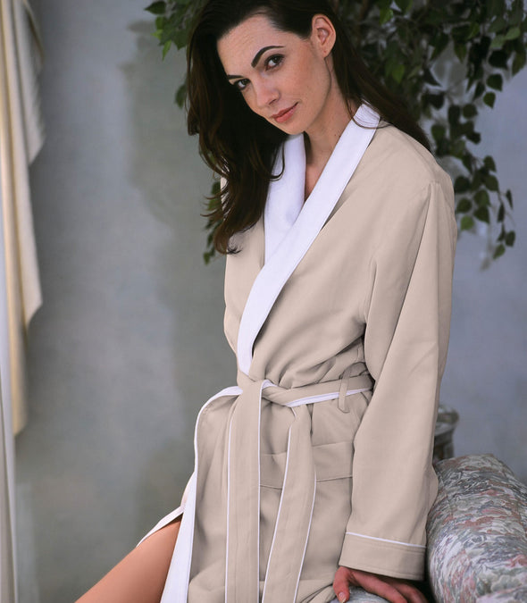 Spa Robe for women_color-Seashell