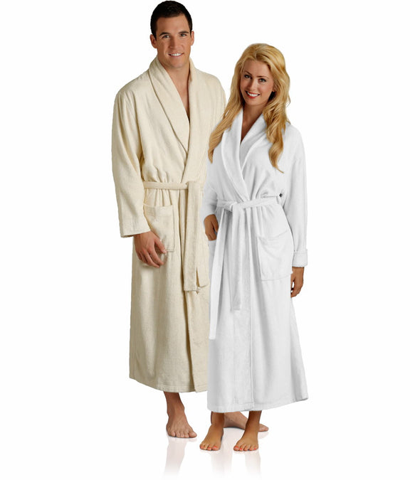 Pure Bliss Terry Robe_color-White_collection-Heavy Weight Robes_collection-Hotel Robes