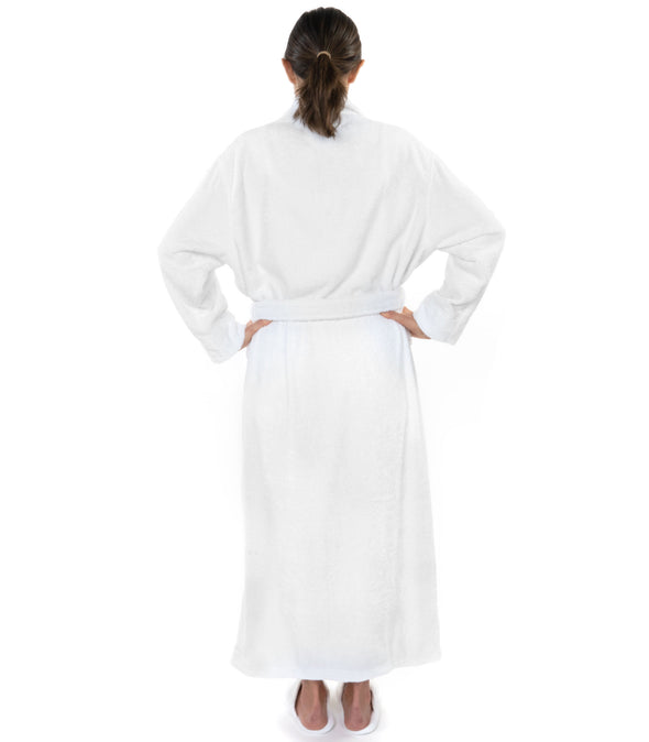 Pure Bliss Organic Cotton Terry Bathrobe_color-White