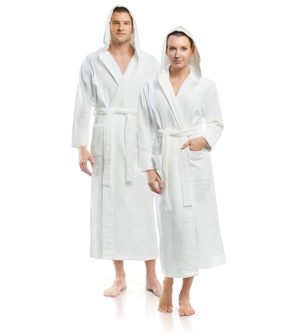 Plush Dream Hooded Robe_color-White_collection-Hotel Robes