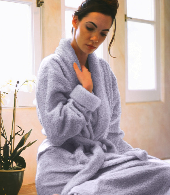 Plush Robe for women_color-Lavender